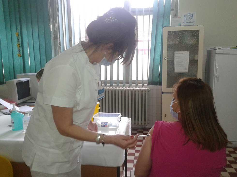 vakcinacija u bolnici