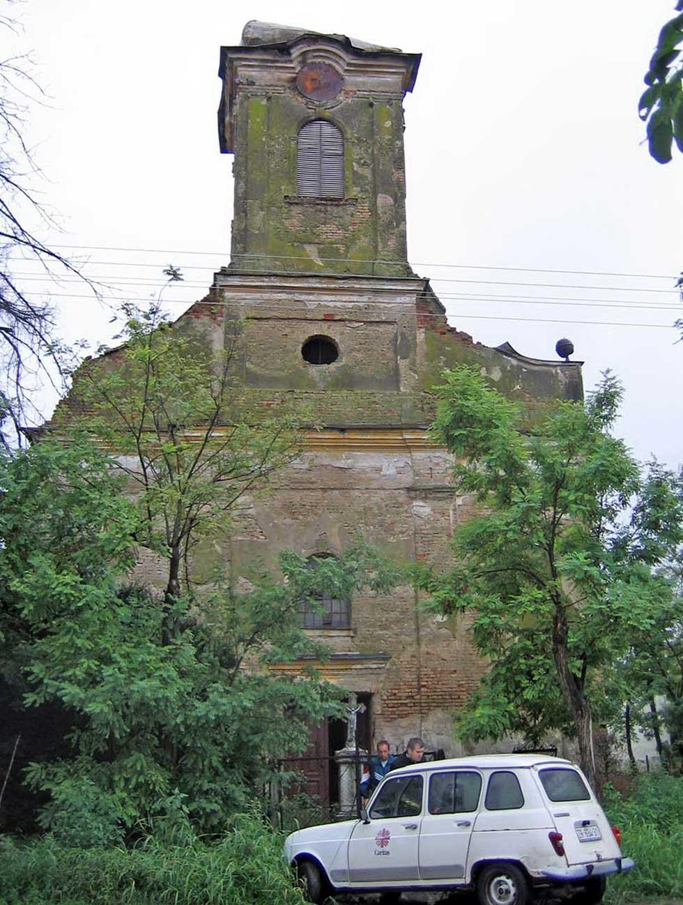crkva u selu međa
