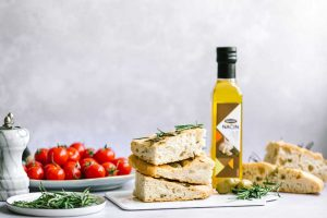 fokača sa aromatizovanim uljem