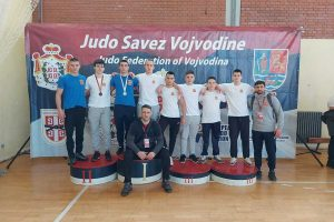 džudisti proletera na kadetskom prvenstvu vojvodine
