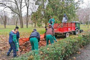 radnici čistoće i zelenila