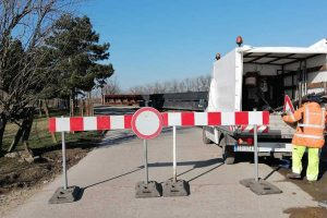 zatvoren put tomaševac - botoš