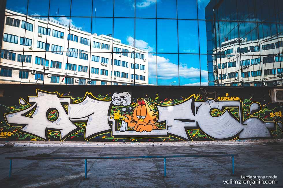 grafiti u zrenjaninu