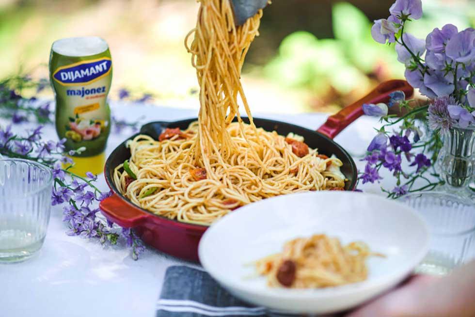 mediteranske špagete