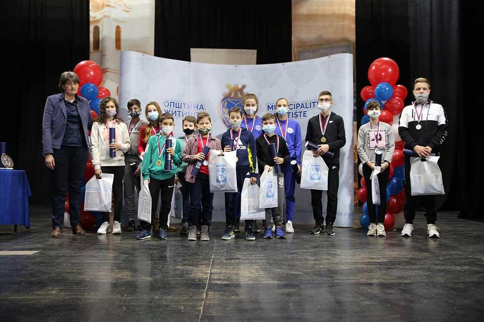 sportski savez opštine žitište uručio priznanja