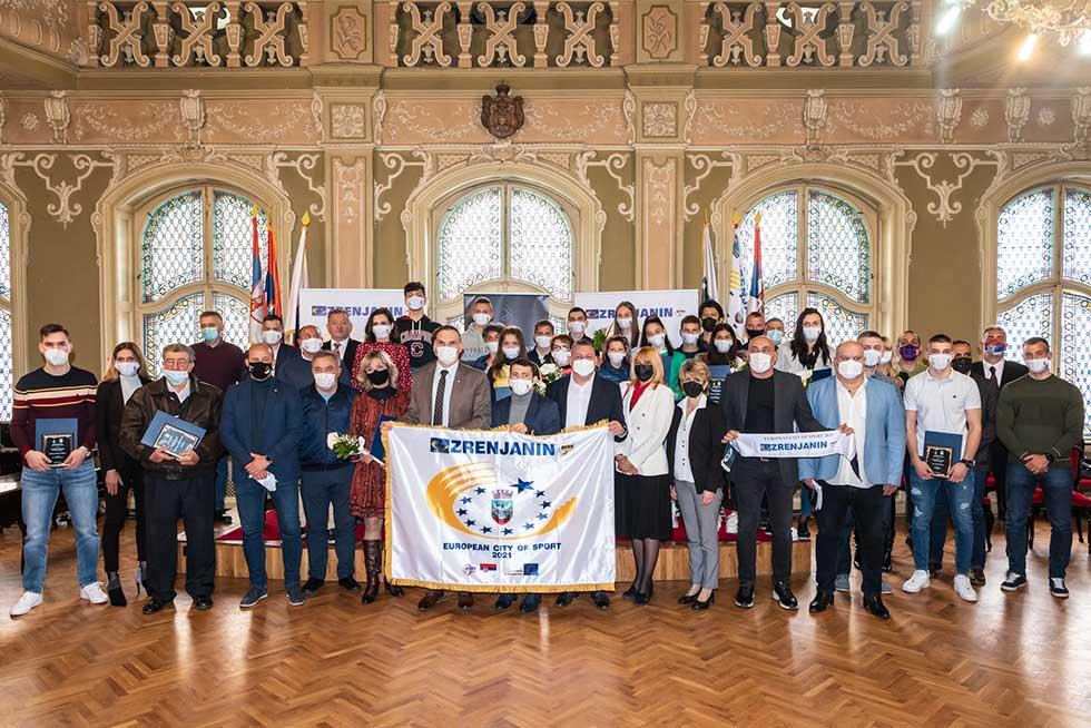 godišnje nagrade sportskog saveza grada zrenjanina