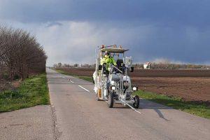 obeležavanje horizontalne saobraćajne signalizacije