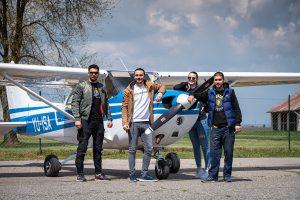 panoramski let avionom