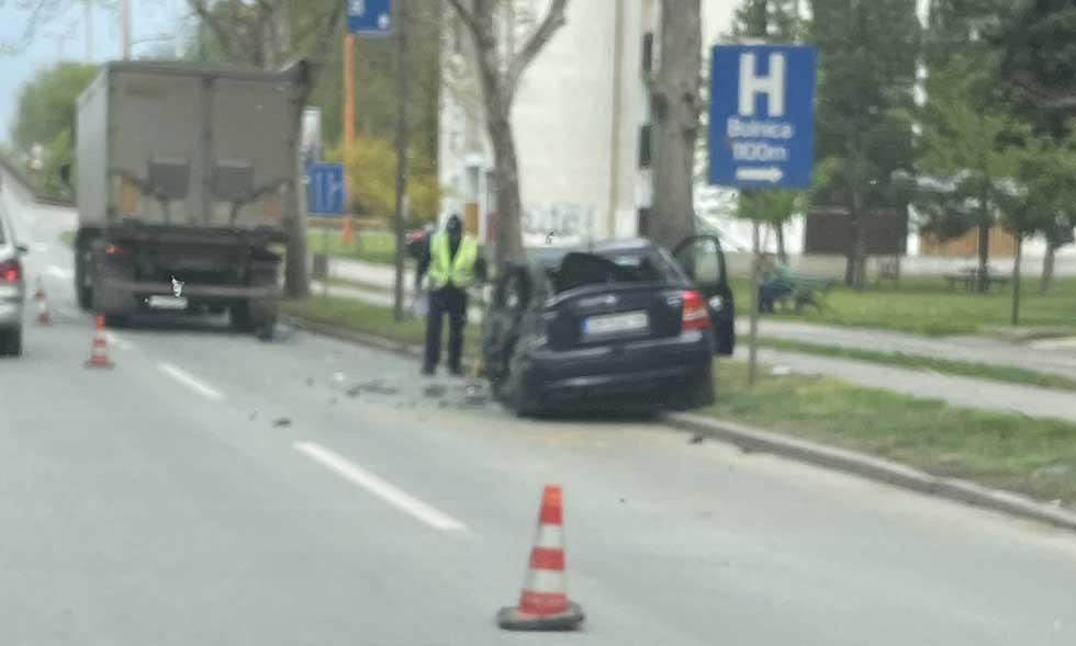 saobraćajna nezgoda na bagljašu