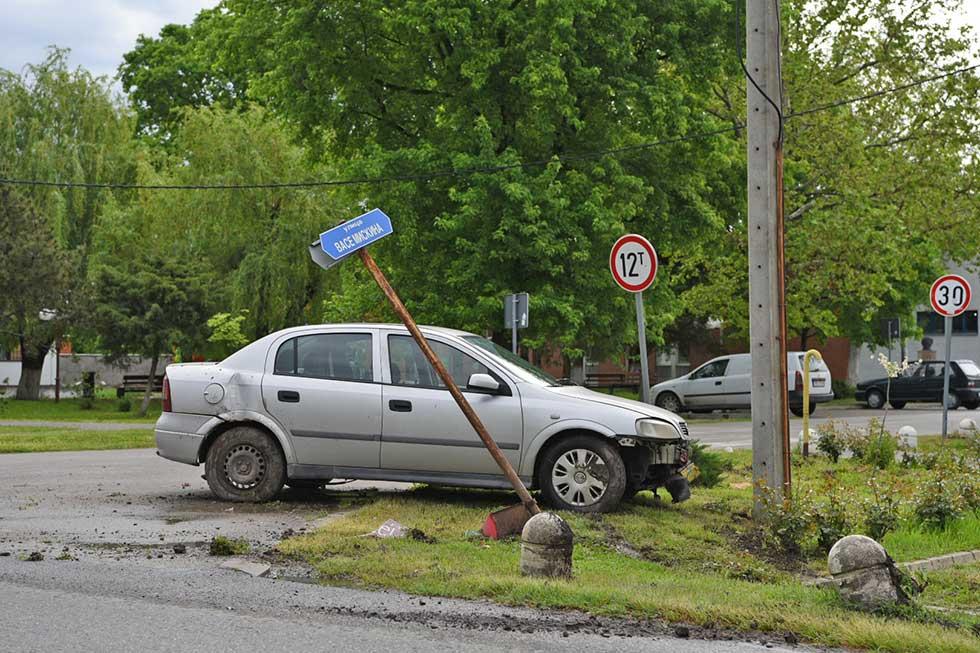 saobraćajna nezgoda u kleku
