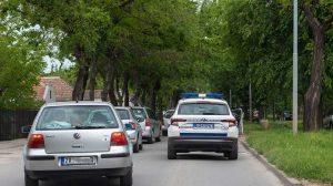 saobraćajna nezgoda u pančevačkoj ulici