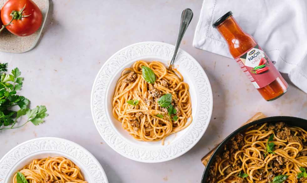 pikantne špagete