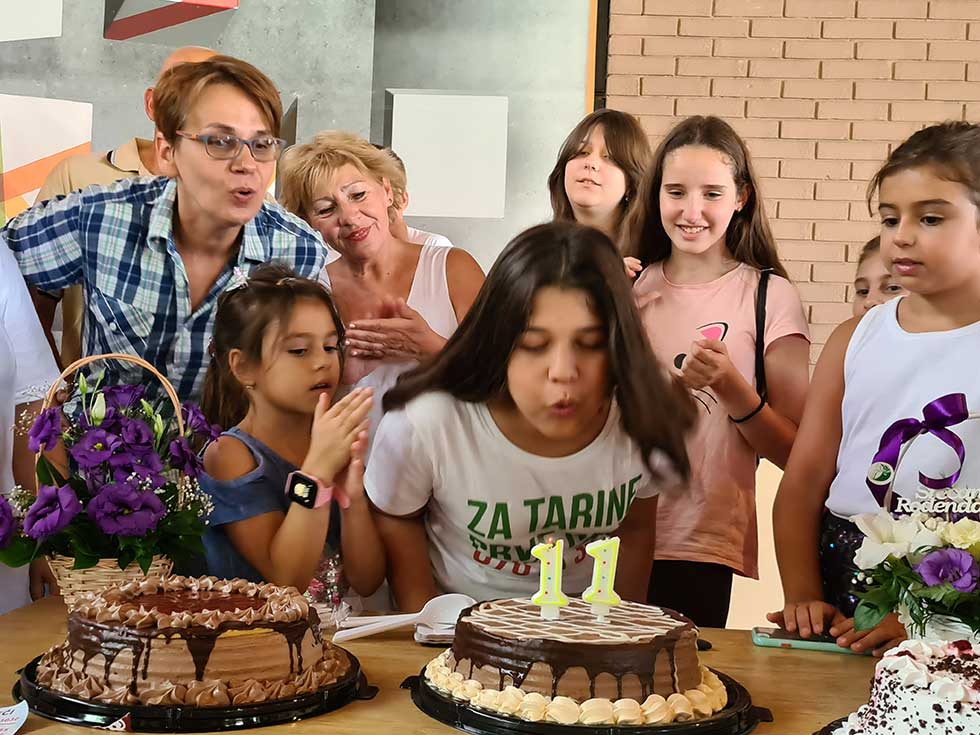 matea balani proslavila jedanaesti rođendan