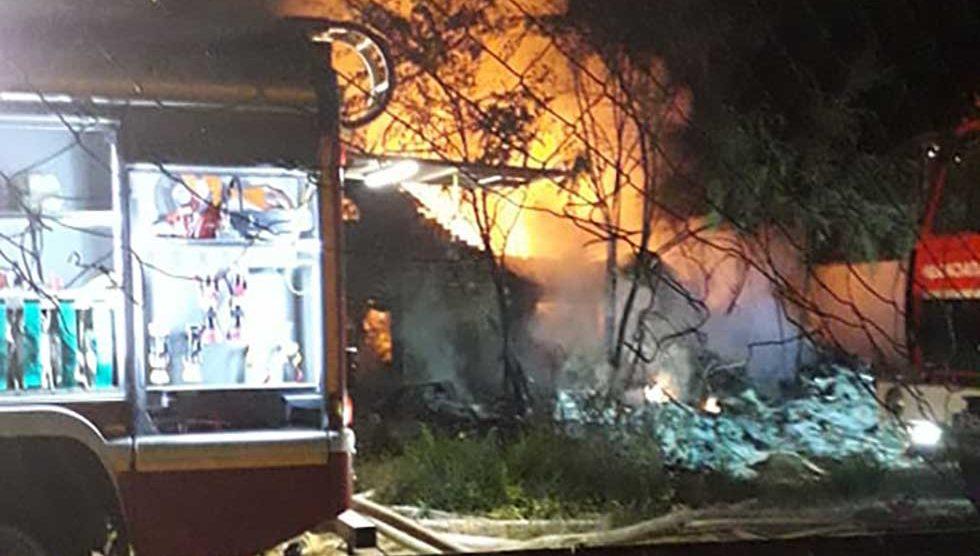 požar u prištinskoj ulici