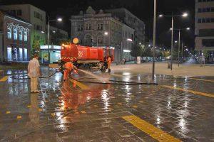čistoća i zelenilo vodi računa o čistoći grada