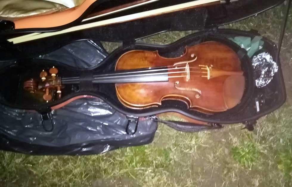 krađa skupocene violine