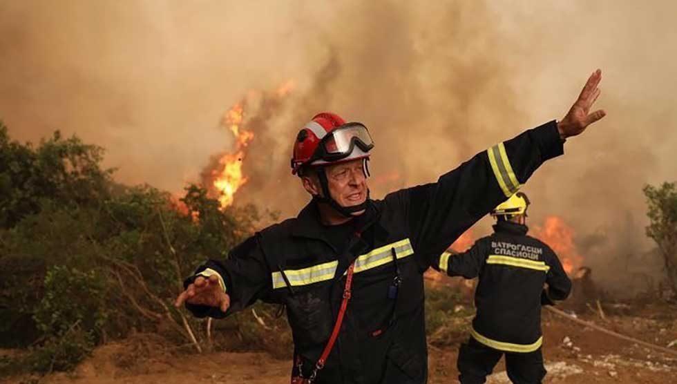 vatrogasci na eviji