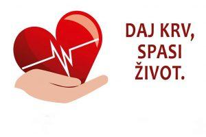 daj krv spasi život
