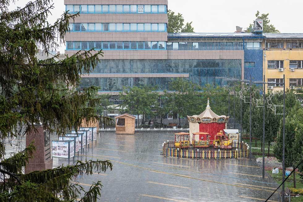 kiša u zrenjaninu