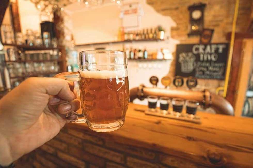 mini pivnica nomad beer house