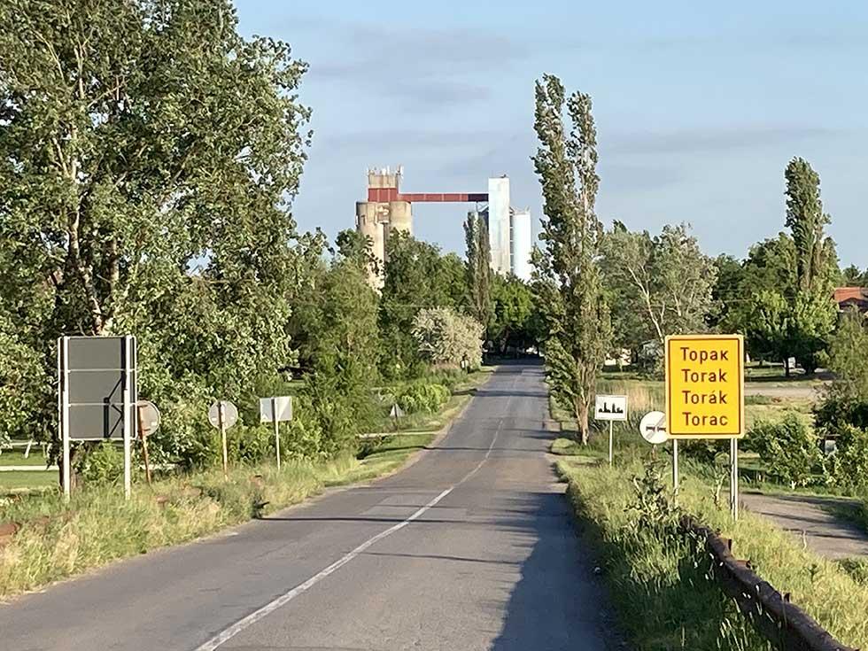 opština žitište - selo torak