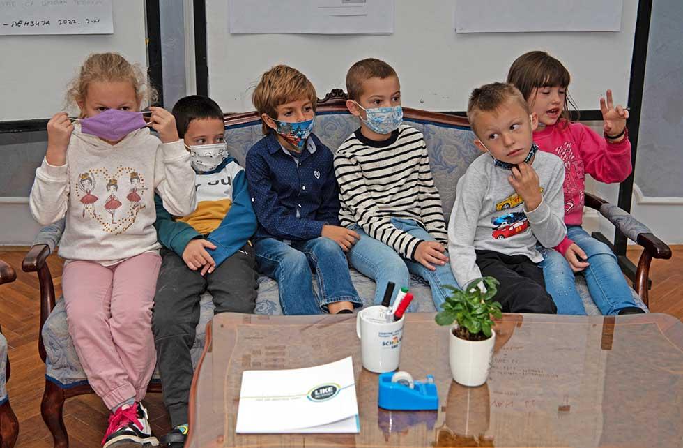 deca iz vrtića dečja radost